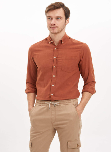 DeFacto Gömlek Oranj